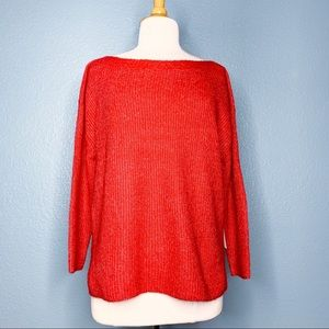 Leith Sweaters - Leith | Red Knit Sweater NWT